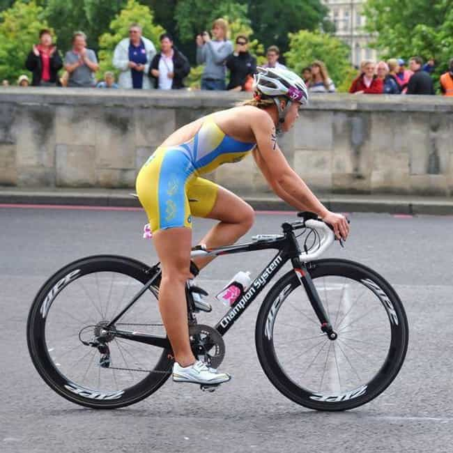 Jessica Harrison is listed (or ranked) 4 on the list Famous Female Triathletes