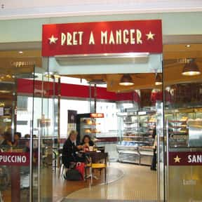 Pret A Manger is listed (or ranked) 6 on the list The Best Restaurant Chains of the UK