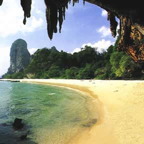 Phra Nang Beach is listed (or ranked) 10 on the list The Best Beaches in Thailand