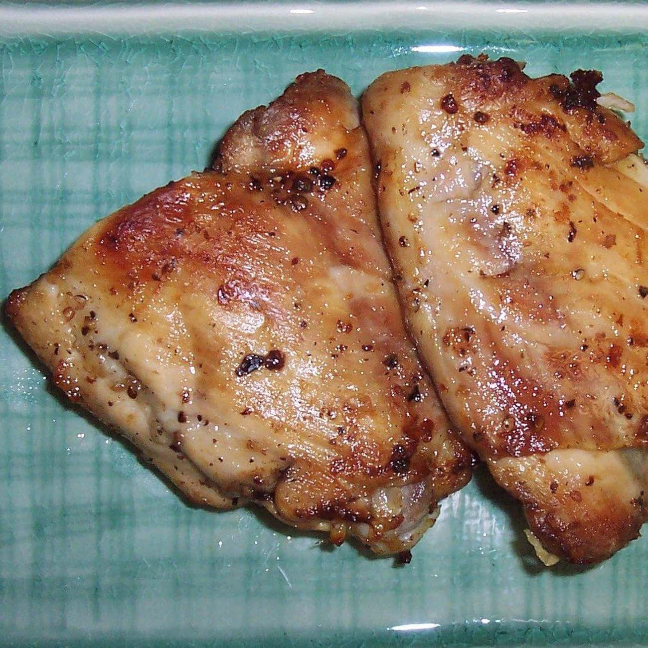 Thigh is listed (or ranked) 1 on the list Every Part Of The Chicken, Ranked By Deliciousness