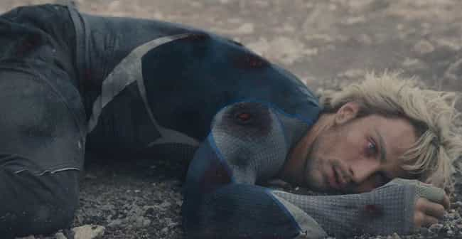 The Avengers: Age of Ultron is listed (or ranked) 4 on the list The Dumbest Heroic Sacrifices In Movie History