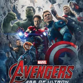 Avengers: Age of Ultron is listed (or ranked) 16 on the list The Highest Grossing Movies of All Time
