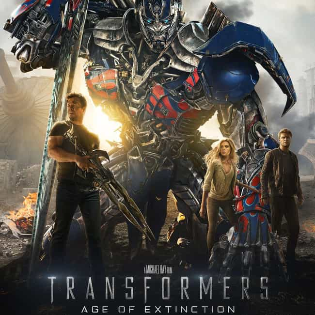 Transformers: Age of Ext... is listed (or ranked) 4 on the list All the 'Transformers' Movies, Ranked Best to Worst