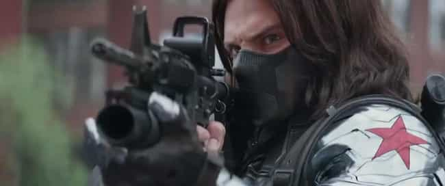 The Winter Soldier is listed (or ranked) 4 on the list The Least Comfortable Superhero Costumes That Actors Have Had To Wear