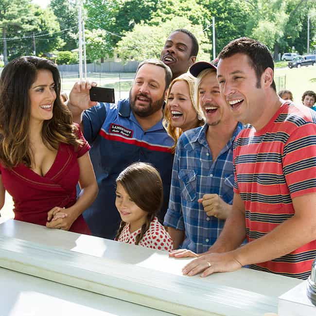 Grown Ups 2 is listed (or ranked) 4 on the list Bad Movies That Had Great Casts