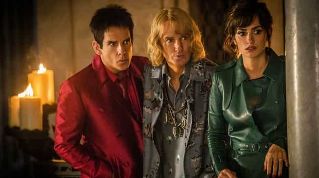 Zoolander 2 is listed (or ranked) 2 on the list These Movie Sequels Came Out So Long After The Original That No One Cared Anymore