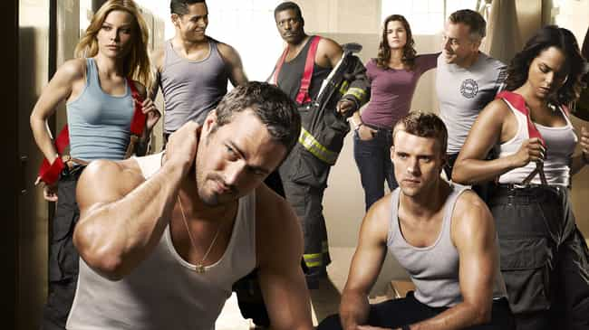 Chicago Fire is listed (or ranked) 1 on the list The Most Attractive NBC Primetime Series Casts
