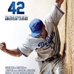 42 is listed (or ranked) 21 on the list The Most Inspirational Movies Ever