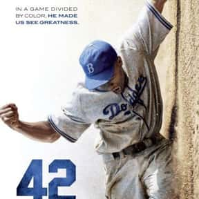 42 is listed (or ranked) 18 on the list The 30+ Greatest Sports Drama Movies of All Time