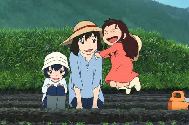 Wolf Children is listed (or ranked) 2 on the list The 15 Best Japanese Animated Films That Aren't Studio Ghibli