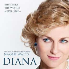 Diana is listed (or ranked) 19 on the list The Best Naomi Watts Movies