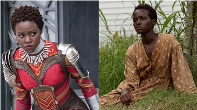 Lupita Nyong'o is listed (or ranked) 3 on the list Where You've Seen All The Black Panther Actors Before