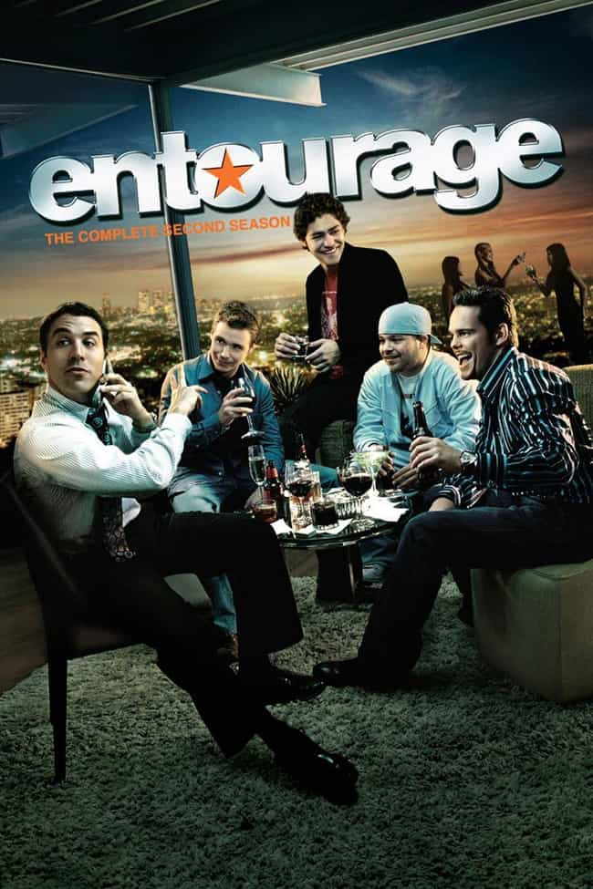 Entourage - Season 2 is listed (or ranked) 1 on the list The Best Seasons of 'Entourage'