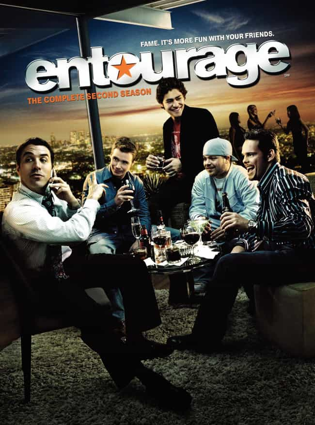 Entourage - Season 2 is listed (or ranked) 1 on the list The Best Seasons of Entourage
