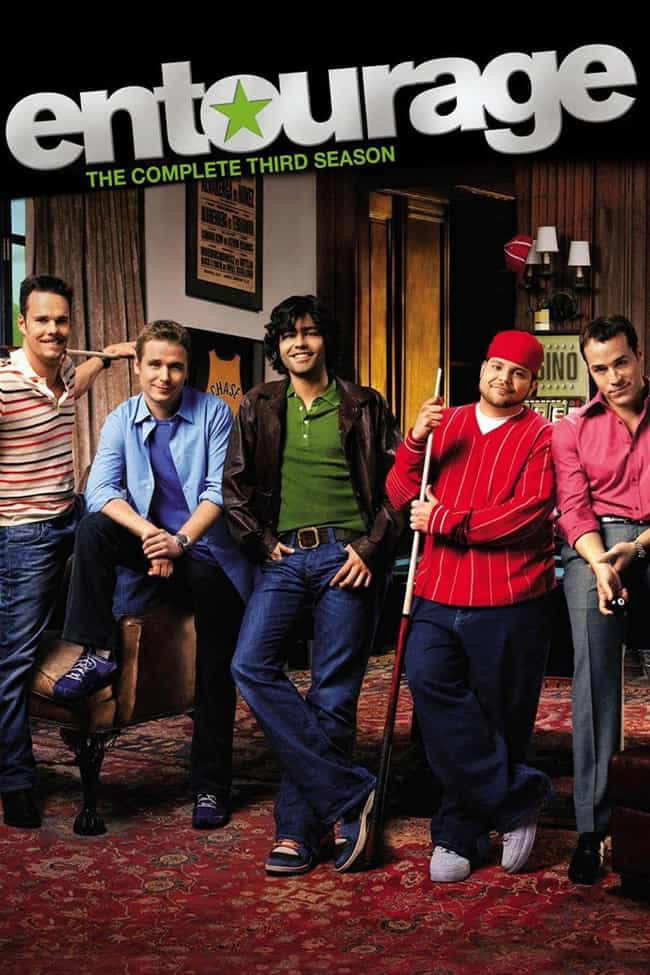 Entourage - Season 3 is listed (or ranked) 2 on the list The Best Seasons of 'Entourage'
