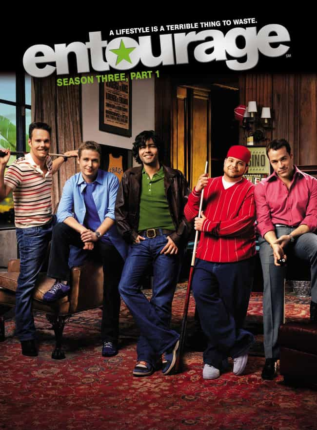 Entourage - Season 3 is listed (or ranked) 2 on the list The Best Seasons of Entourage