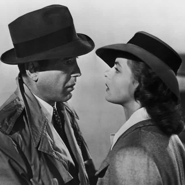 Casablanca is listed (or ranked) 2 on the list The Best Movies Where the Guy Doesn't Get the Girl