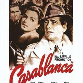 Casablanca is listed (or ranked) 11 on the list The Best Movies with Only One Word for a Title