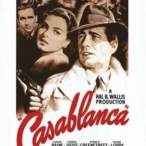 Casablanca is listed (or ranked) 24 on the list The Greatest World War II Movies of All Time