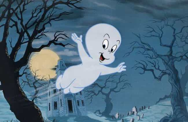 Casper the Friendly Ghost is listed (or ranked) 1 on the list 14 Childhood Favorite Cartoon Characters With Tragic Origin Stories