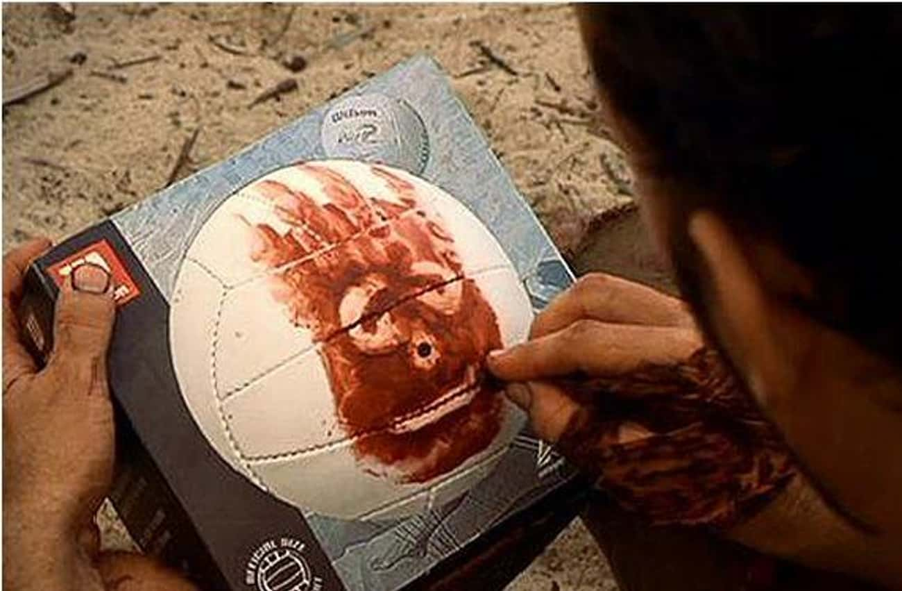 Wilson in 'Cast Away' is listed (or ranked) 3 on the list Behind the Scenes Stories of Famous Props