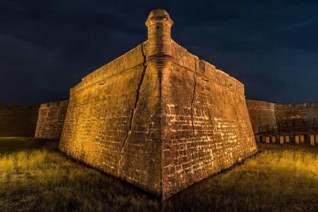 Castillo de San Marcos is listed (or ranked) 1 on the list The Most Haunted Locations In Florida That You Can Actually Visit