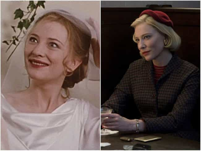 Cate Blanchett is listed (or ranked) 3 on the list Actors Who Somehow Looked Older in the 90s Than They Do Now