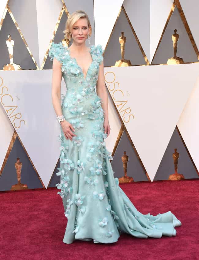 Cate Blanchett is listed (or ranked) 3 on the list The Worst Dressed at the 2016 Oscars
