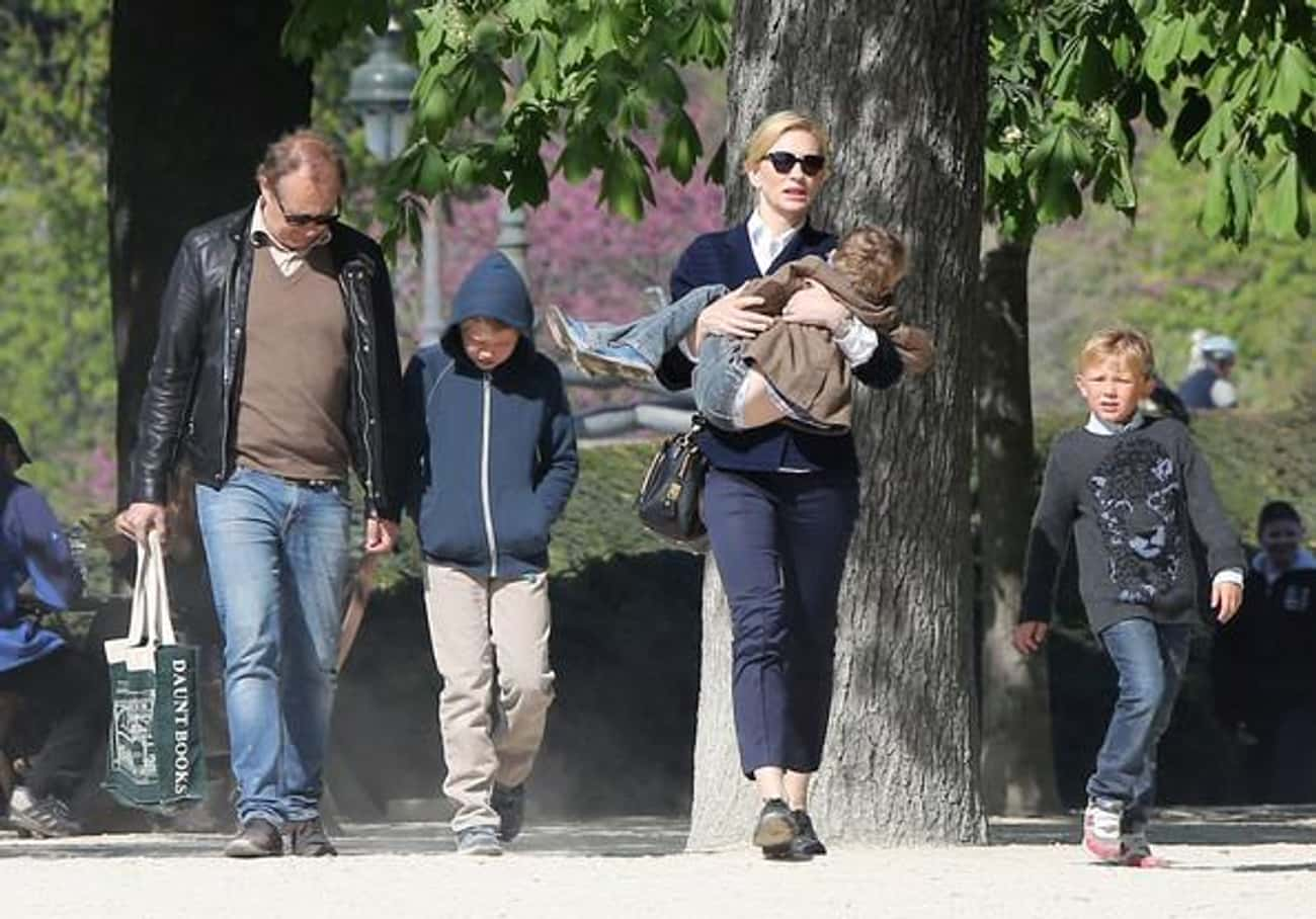 Cate Blanchett is listed (or ranked) 2 on the list Celebrities Who Adopted Children
