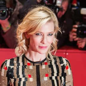 Cate Blanchett is listed (or ranked) 22 on the list Who Was America's Sweetheart in 2018?
