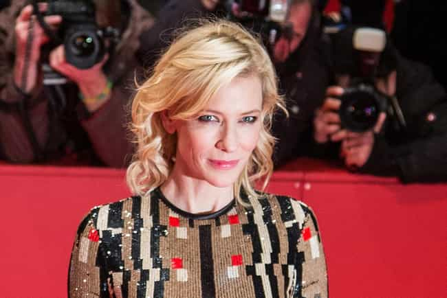Cate Blanchett is listed (or ranked) 4 on the list Celebrities Who Wear Giorgio Armani S.p.A.