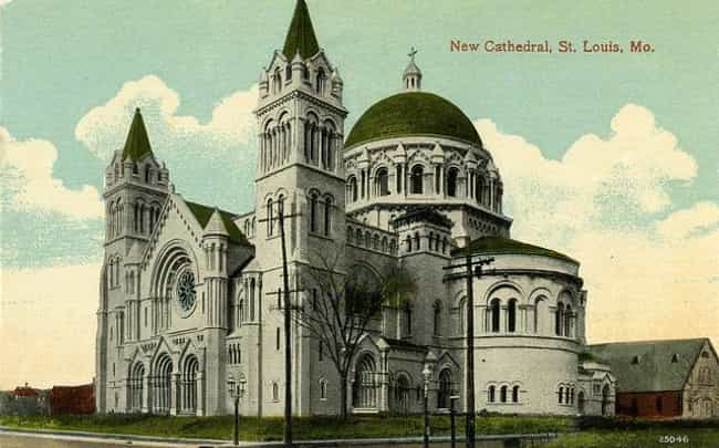 Cathedral Basilica of Sa... is listed (or ranked) 2 on the list Architecture: Most Beautiful Cathedrals/Churches-U.S./Canada