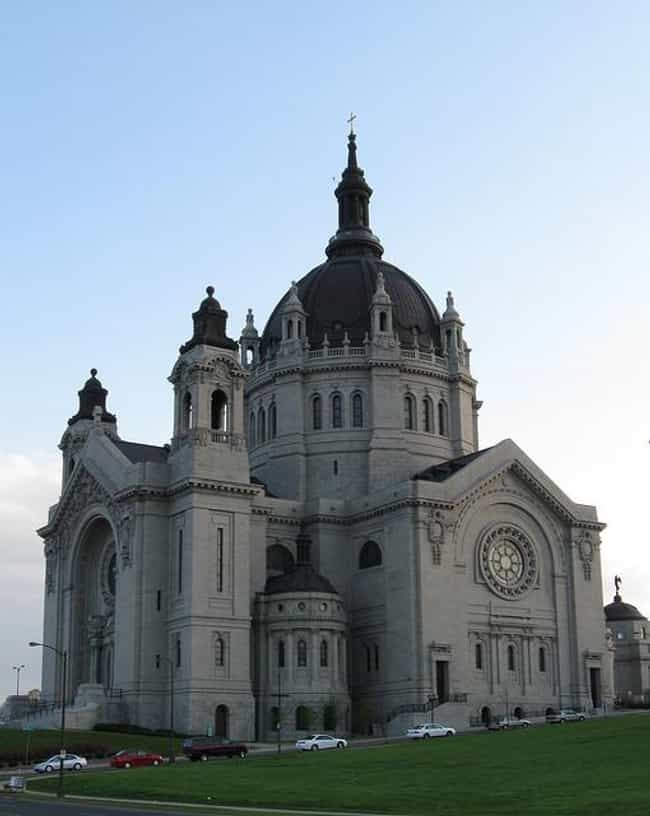 Cathedral of Saint Paul ... is listed (or ranked) 3 on the list Architecture: Most Beautiful Cathedrals/Churches-U.S./Canada