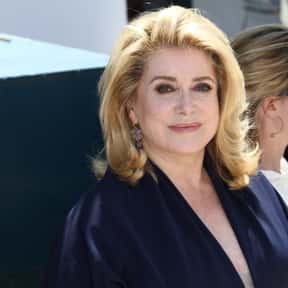 Catherine Deneuve is listed (or ranked) 1 on the list Popular Film Actors from France
