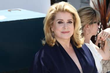 Catherine Deneuve is listed (or ranked) 2 on the list Famous People Born in 1943