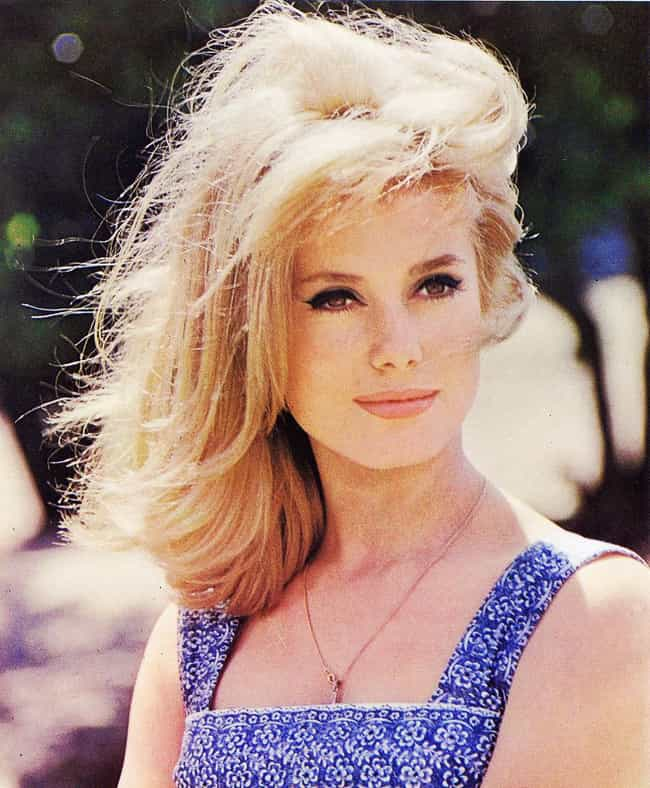 Catherine Deneuve is listed (or ranked) 4 on the list The Most Beautiful French Ladies of All Time