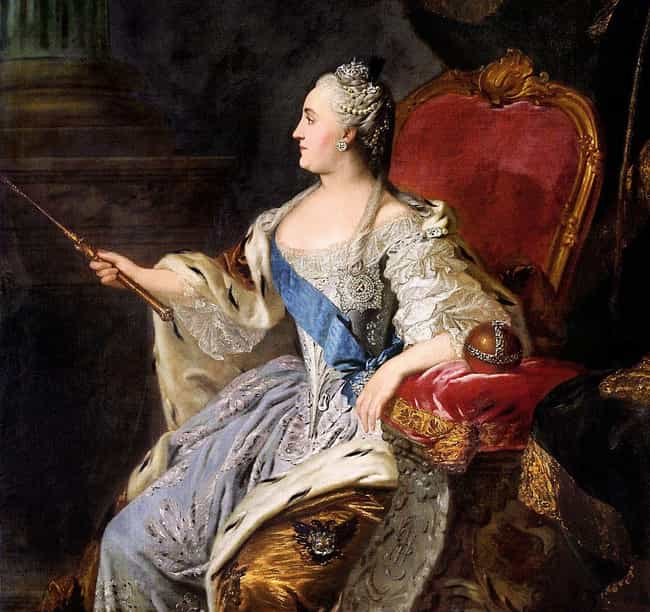 Catherine II of Russia is listed (or ranked) 3 on the list How History's Most Famous Extroverts Changed History