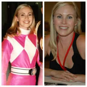 Catherine Sutherland is listed (or ranked) 14 on the list Power Rangers Cast List
