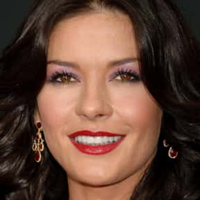 Catherine Zeta-Jones is listed (or ranked) 10 on the list The Best Cat Things