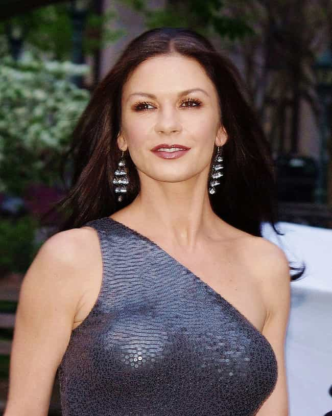 Catherine Zeta-Jones is listed (or ranked) 7 on the list Female Celebrities Who Are 5'7
