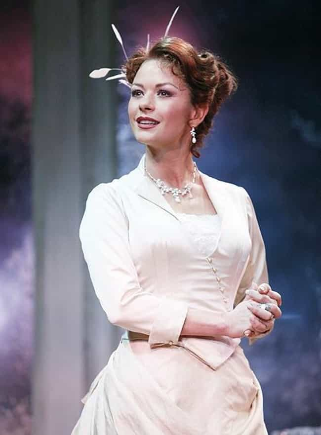 Catherine Zeta-Jones is listed (or ranked) 1 on the list 18 Famous Actresses Who Won Tonys for Musicals