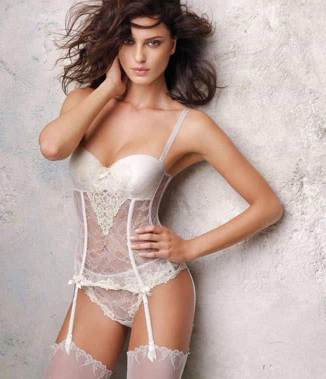Catrinel Menghia is listed (or ranked) 3 on the list The Most Beautiful Famous Brown-Eyed Girls