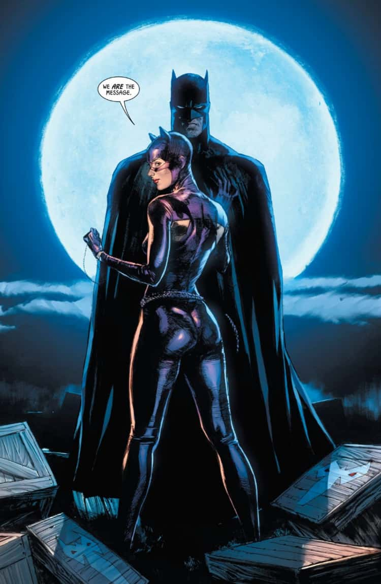 Catwoman Is A Full-Time Bat-Ally And Bruce Wayne's Permanent Paramour