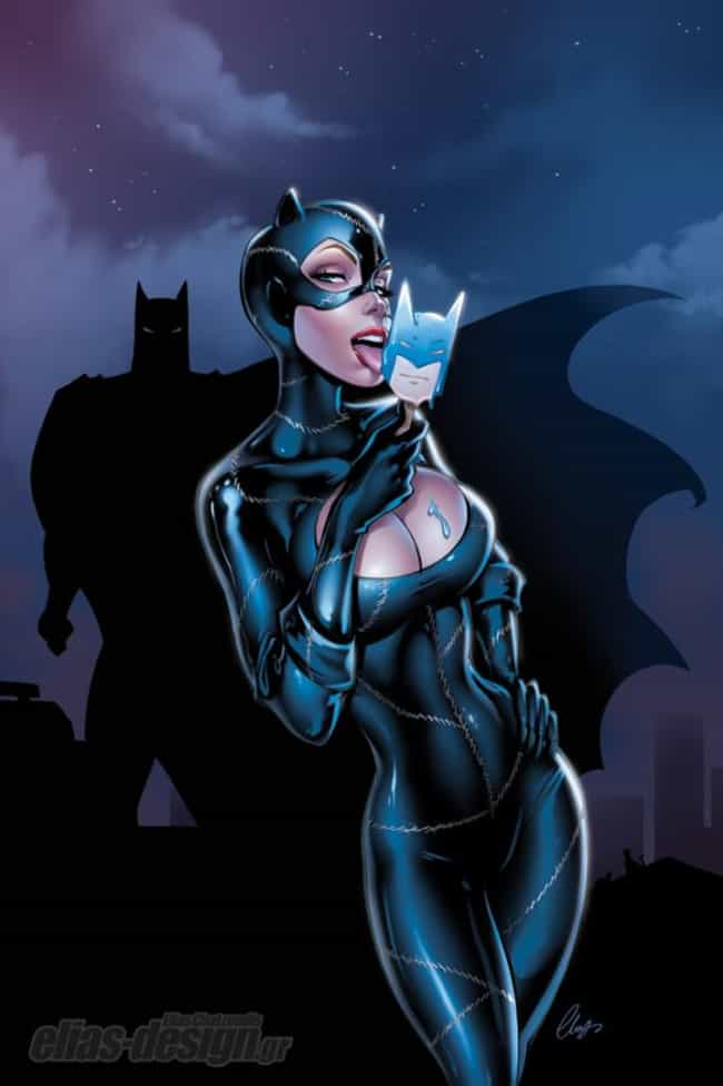 Catwoman is listed (or ranked) 3 on the list The Most Alluring Female DC Characters