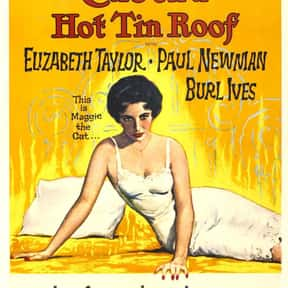 Cat on a Hot Tin Roof is listed (or ranked) 9 on the list The Best Oscar-Nominated Movies of the 1950s