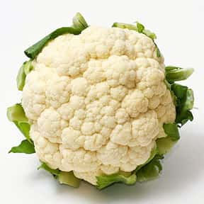 Cauliflower is listed (or ranked) 22 on the list The Tastiest Vegetables Everyone Loves Eating