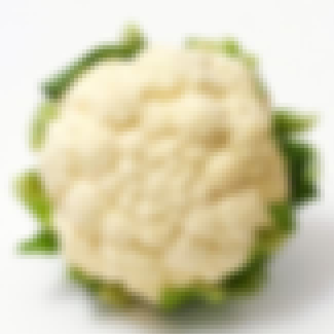 Cauliflower is listed (or ranked) 3 on the list Vegetables That Are Technically Flowers