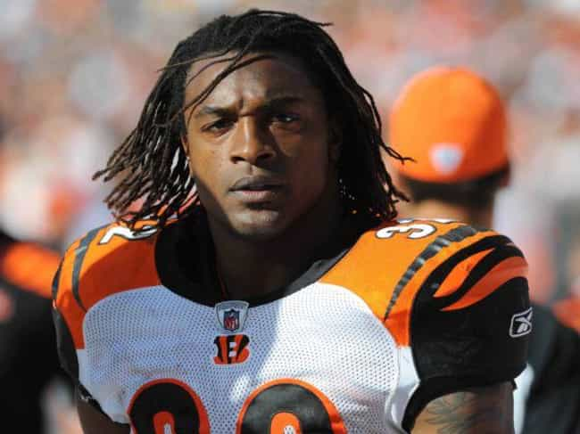 Cedric Benson is listed (or ranked) 4 on the list 10 Athletes with Celiac Disease