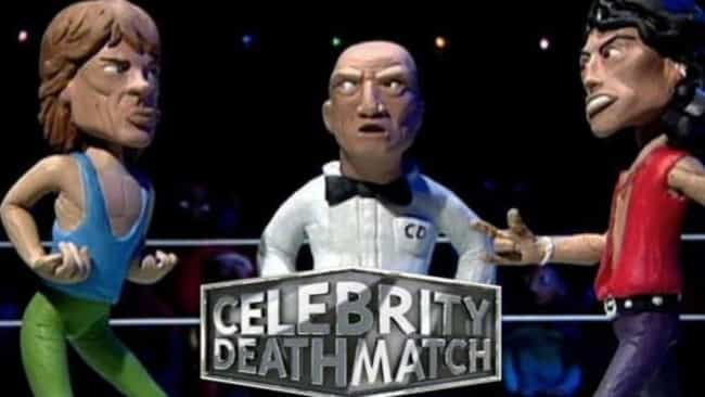 Celebrity Deathmatch is listed (or ranked) 4 on the list '90s Shows That Are Coming Back