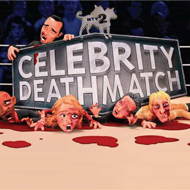 Celebrity Deathmatch is listed (or ranked) 2 on the list The Best MTV Cartoons You'll Never Forget